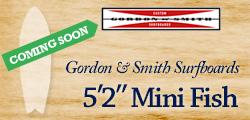 G&S Surfboards 5'2″ Mini Fish