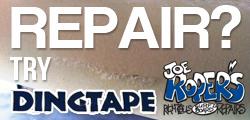 【簡単便利】なクイックサーフボードボードリペアテープ/Ding Tape
