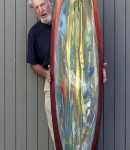 Surfboards La Jolla 7&#8217;2&#8243; Classic Porpoise by Bear Mirandon