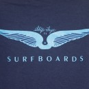 "Skip Frye Surfboards T-shirt ""71″ Limited Edition 2012 (Size:L / Item#310)"